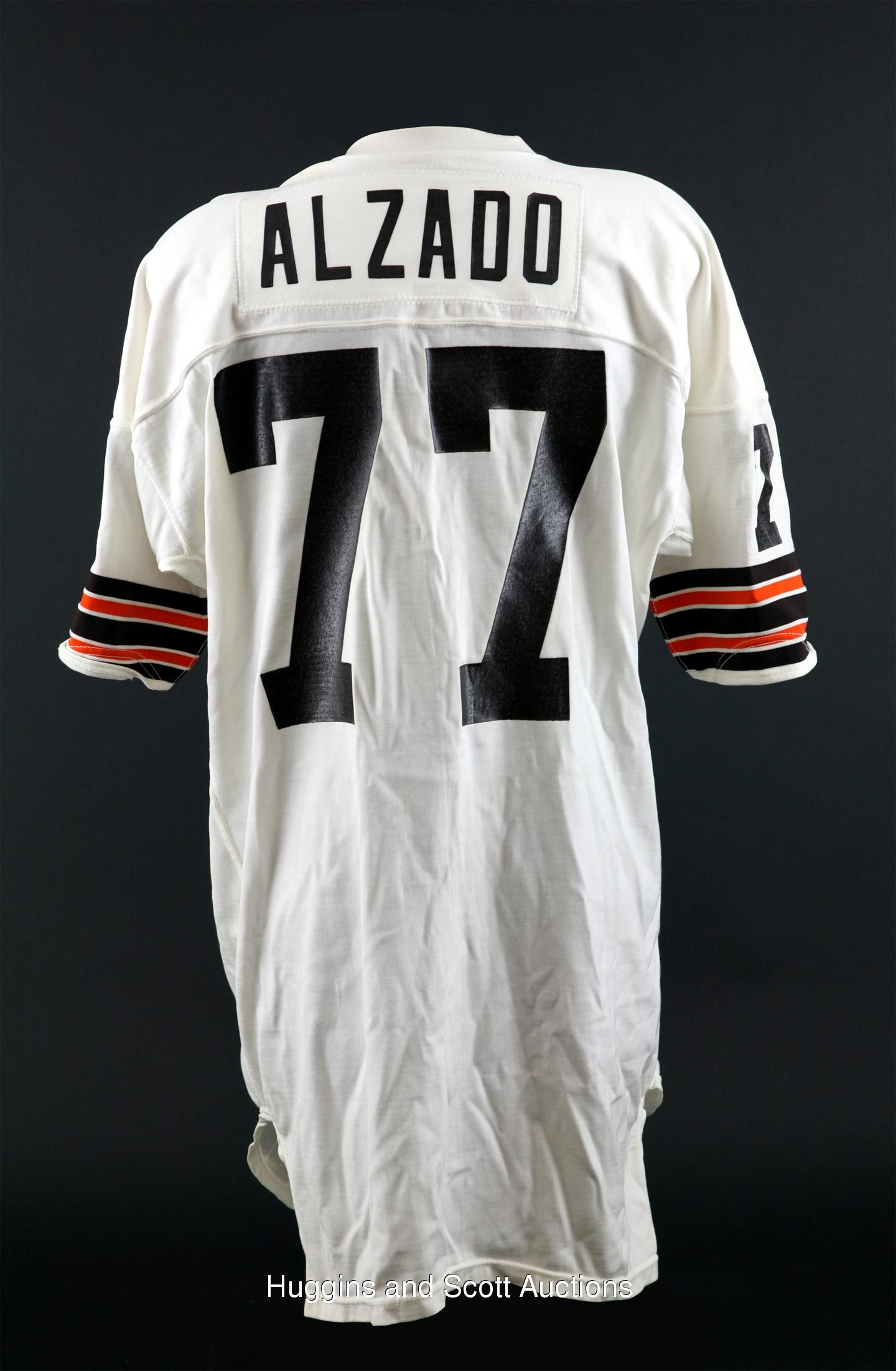 1979 1980 Lyle Alzado Game Worn Cleveland Browns Jersey