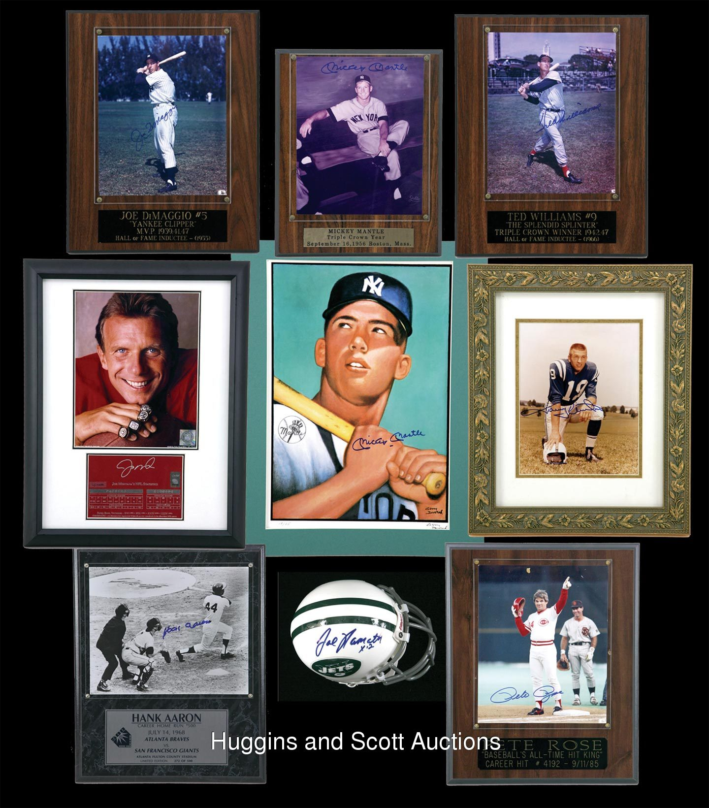 20 Multi Sport Champions Autographed Collection With