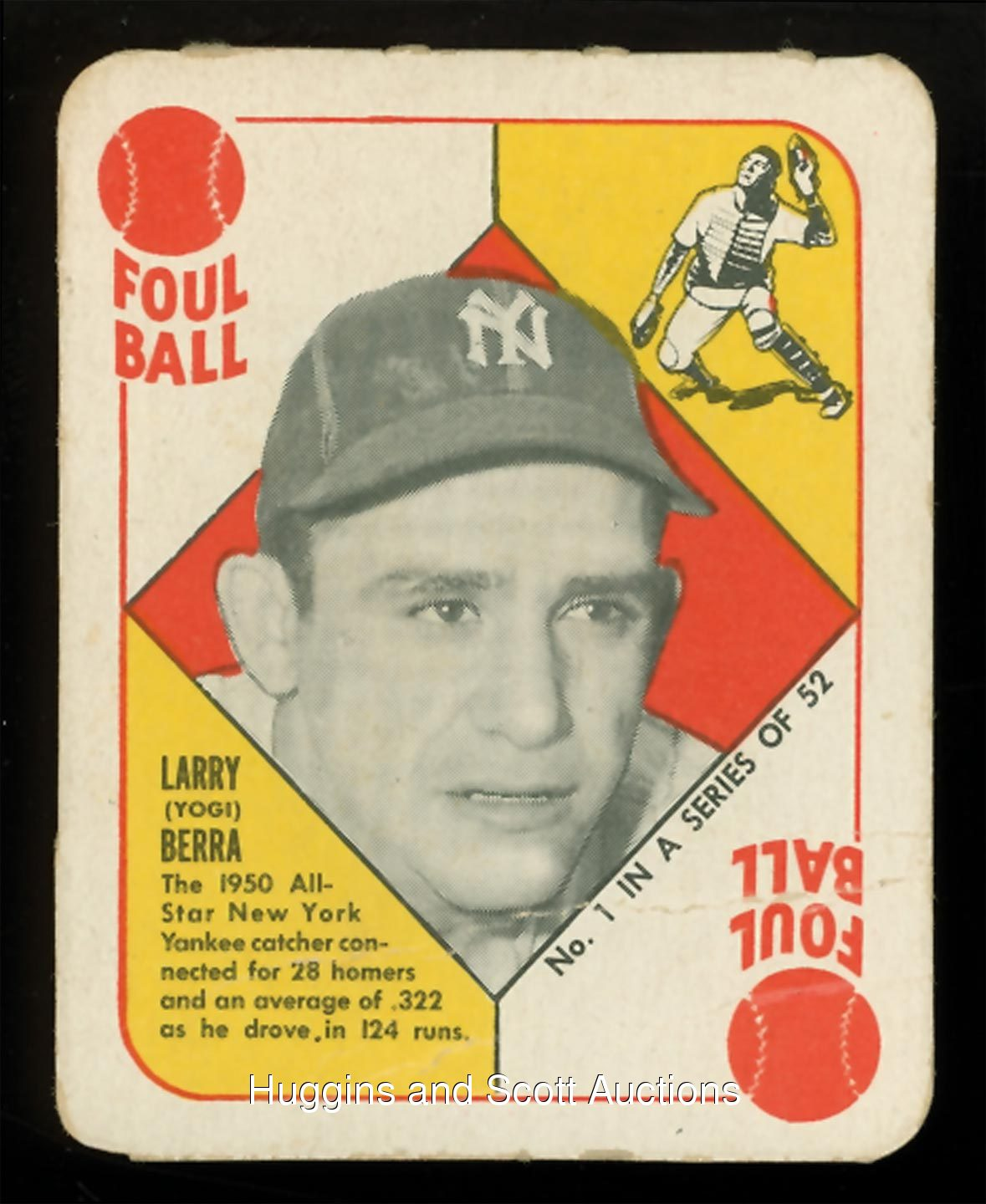 1951 topps red back complete set 52